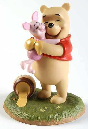Primary image for Disney Pooh & Friends  A Good Friend Sticks to You Like Honey Porcelain Figurine
