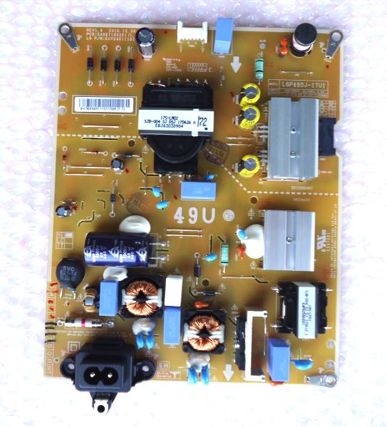 Lg 49UJ6300UA Power Supply Board Part# and 50 similar items