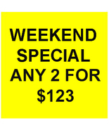 FRI-SUN PICK ANY 2 FOR $123 MAKE A BEST OFFER DEAL MAGICK CASSIA4 - $0.00