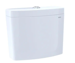 Toto ST446EMA#01 Aquia IV 1.28 & 0.8 GPF Dual Flush Toilet Tank Cotton W... - $101.92