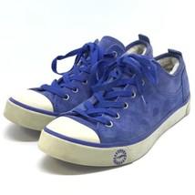 UGG Australia Blue Suede Lace Up Shoes Casual Comfort Sneakers Women Siz... - $790,84 MXN