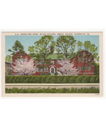 Butler Building Spring Time Brenau College Gainesville Georgia linen pos... - $5.94