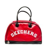 SKECHERS Duffle Gym Classic Bag Red And Black - $26.18