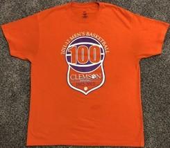 Clemson Men's Basketball 100 Year Anniversary T-Shirt Men's Large NCAA S... - $13.95
