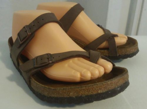 645a58b5c186 Birkenstock Sandals Brown Toe Strap Size 40 and 50 similar items. 12