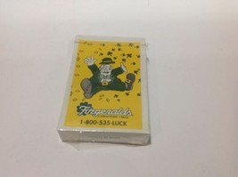 Fitzgeralds Casino Reno Playing Cards New Sealed Closed 2013 Leprechaun - $9.49