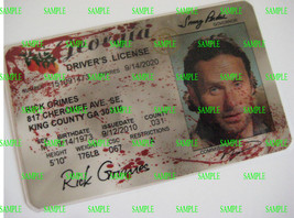 The Walking Dead  Driver's License [ Rick ]  B3G1F - $5.99