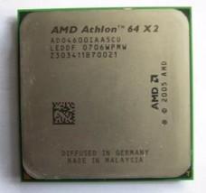 Amd Athlon 64 X2 4600+ ADO4600IAA5CU 2.4GHz 1M Cache AM2 Processor Cpu 65W - $9.41