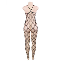 #H3001 Women's sexy lingerie cut-out crotchless body stockings - $18.00