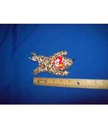 Original Ty Teenie Beanie Baby Freckles the Leopard 1993 McDonalds Toy - $8.99