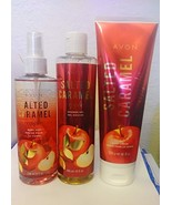 Avon Salted Caramel Apple set. Lotion. Shower gel and body mist - $39.99