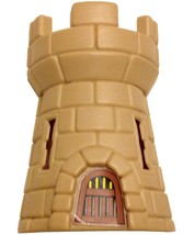 Crossbows and Catapults, 1983 Lakeside, Vikings Tower (tan, castle) - $9.99