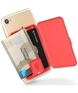 SINJIMORU Card Holder Case For IPhone, Android, Stick-on Wallet Phone C... - $30.40
