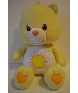 "Care Bear Funshine Bear Stuffed Plush 24"" Yellow Sun 2003 TCFC - $14.99"