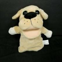 KellyToy Plush Brown Dog Puppy Animal Hand Puppet Pretend Play Education... - $17.81