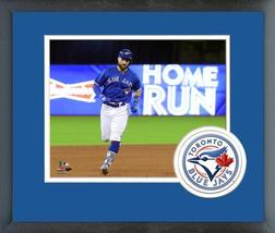Kevin Pillar 2018 Toronto Blue Jays Home Run-11x14 Team Logo Matted/Fram... - $43.95