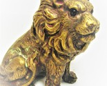 Brass Lion Paperweight