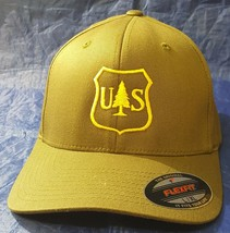 USFS United States Forest Service Logo Embroidered FlexFit Hat - $34.99