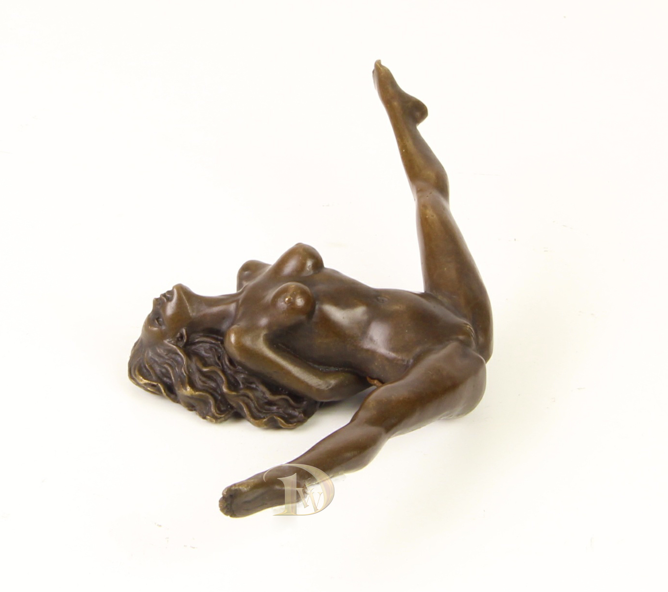 Antique Home Decor Bronze Sculpture shows Erotic Bronze signed * Free Shipping