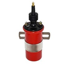 A-Team Performance Ignition Coil Spark Canister Oil Filled Red 45,000 Volts Univ image 2