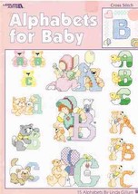 Leisure Arts Cross Stitch Alphabets for Baby by Linda Gillum - $5.99