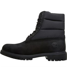 Timberland Mens 6 Inch Premium Puffer Waterproof Boots Black - $204.84