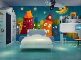 3D Schöne warme Zimmer 255 Fototapeten Wandbild Fototapete BildTapete Familie - $52.21+