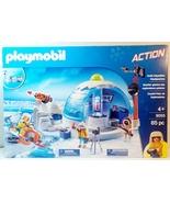 Playmobil Arctic Expedition Headquarters #9055 building playset - $39.99