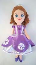 "Disney SOFIA THE FIRST Princess Small Soft Plush Stuffed Doll Toy 11.5"" ... - $4.94"