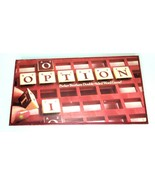 Option Vintage Word Board Game Parker Brothers 1983 Complete - $14.98