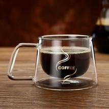 Clear Teapot New Office Fashion Mugs Heat Resistant Coffee Glass Borosil... - $17.75