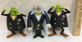 McDonalds Toy Le Frog Mr Rat Flushed Away Souris City Lot 3 Happy Meal - $9.85