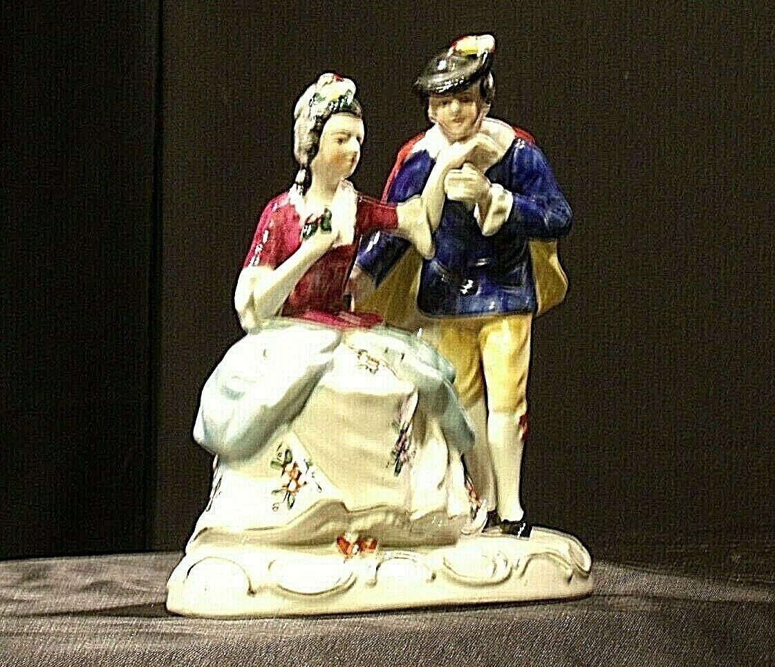 Man and woman Figurine AA-192058 Vintage (Japan)