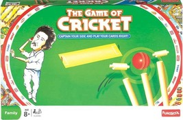 Funskool The Game Of Cricket  Board Game 2-4 Players Indoor Game Age 8+ - $20.33