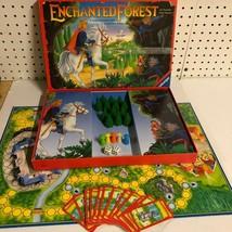 VTG Ravensburger Enchanted Forest Magical Treasure Hunt Board Game 90% Complete - $29.69