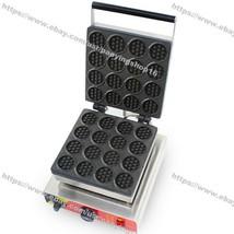 Nonstick Electric Mini Traditional Round Belgian Waffle Maker Iron Machi... - $262.35