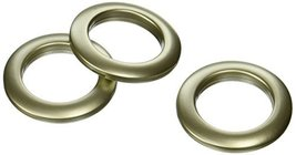 Dritz Home 44367 Round Curtain Grommets, 1-9/16-Inch, Champagne (8-Piece) - $8.90