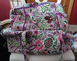 Vera bradley large and small duffel bag in retired Viva La Vera Pattern - £82.00 GBP