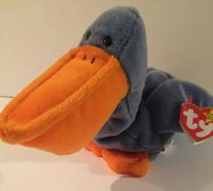 Ty Original Beanie Baby Collection Scoop Pelican Plush Soft Stuffed Anim... - $11.54