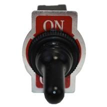 SPST ON-Off Heavy Duty 20 Amp AC/DC Toggle Switch w/ Weatherproof Neoprene Boot image 2