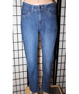 "LEE RIDERS Women's Size 10 P Petite Stretch Boot Cut Denim Jeans 28"" Ins... - $25.15"