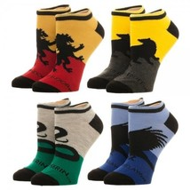 Harry Potter Movie Hufflepuff Slytherin Raven Claw Gryffindor 4 Pack Ank... - $17.00