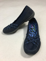 NEW Skechers Womens 6 Dreamchaser Sunny Day Navy Blue Memory Foam Shoes - $39.99