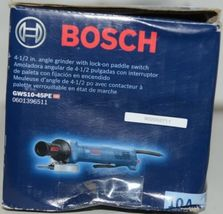 BOSCH GWS10 45PE Angle Grinder with Lock On Paddle Switch CORDED Package 1 image 3