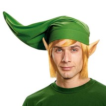 Legend Of Zelda Adult Link Costume Hat Green - $27.98