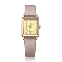 Julius Brand Vintage Leather Watch Women's Simple Rectangular Small Dial... - $53.88