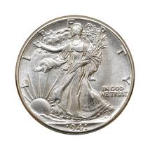 1941 P Walking Liberty Half Dollar - Gem BU / MS / UNC - $42.00