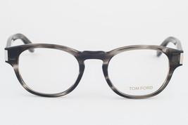 Tom Ford 5275 093 Striped Gray Eyeglasses TF5275 093 50mm image 2