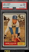 1961 Topps Baseball Card #38 Bob Lillis - PSA 8 NM-MT - $18.76