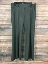 Ann Taylor Loft Women's Gray Dress Pants Size 8 Inseam 32 - $17.82